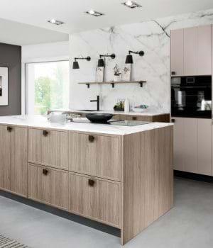 Rotpunkt kitchen in wood finish