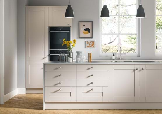 Sheraton Nouveau shaker style kitchen