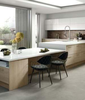 Rotpunkt Rigid Sand kitchen