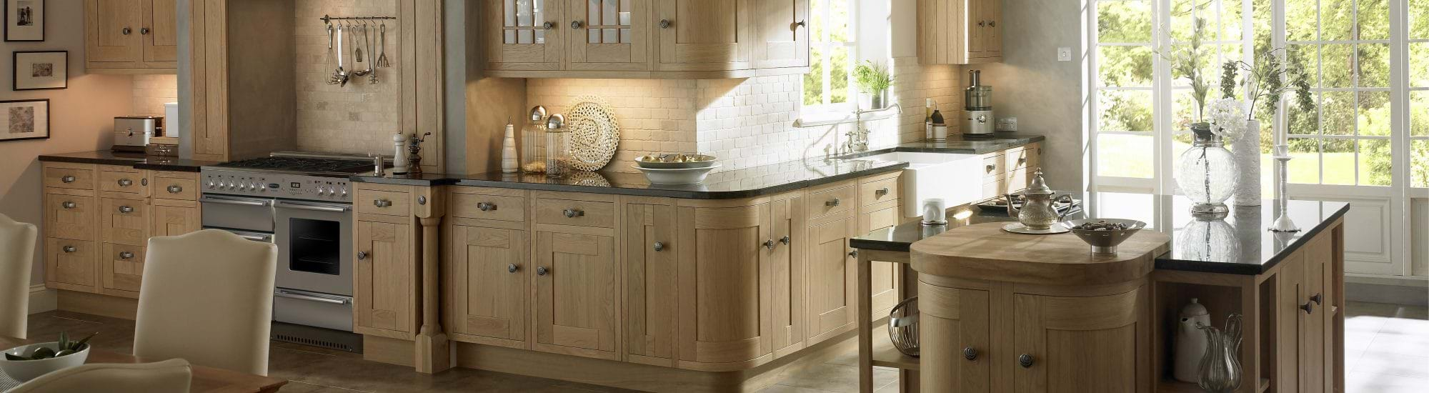 Wood Effect Kitchens
