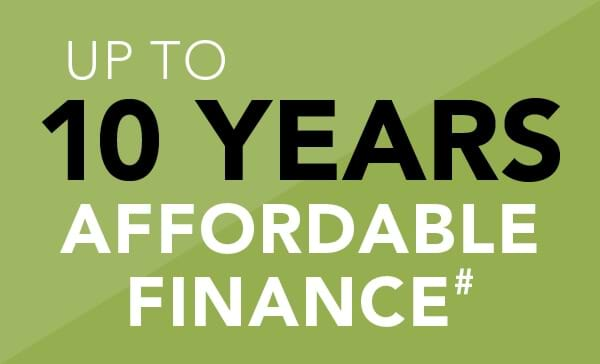 Up to 10 Years Affordable Finance#