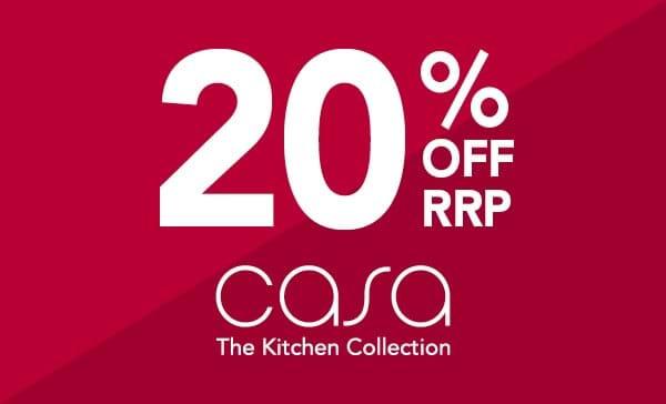 20% off Casa