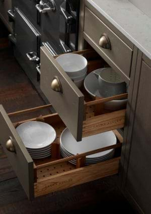 Laura Ashley kitchen storage