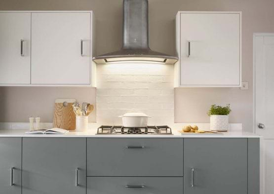 Laura Ashley Richmond grey kitchen cabinets