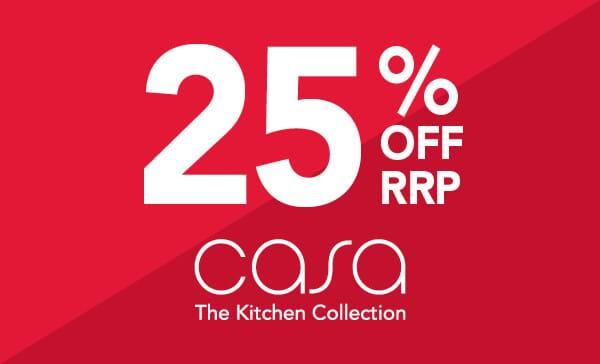 25% off Casa kitchens