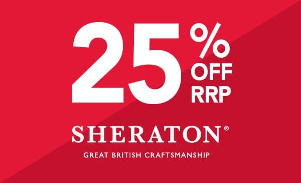 25% off Sheraton kitchens