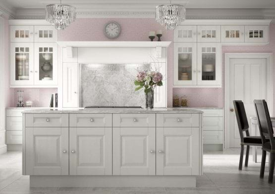 Laura Ashley Bedale kitchen with island