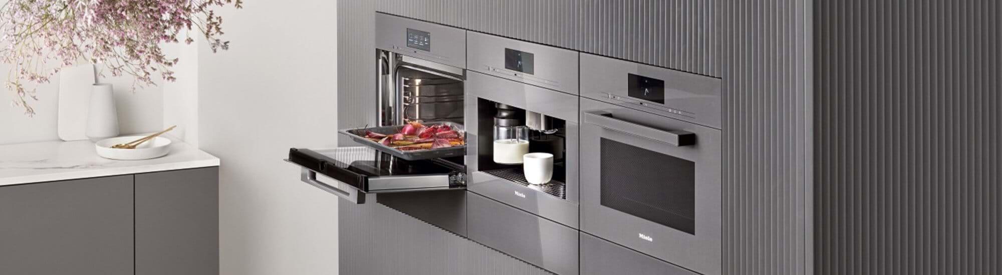Miele built in appliances