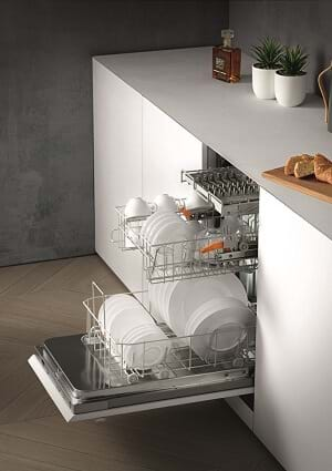Miele built in dishwasher
