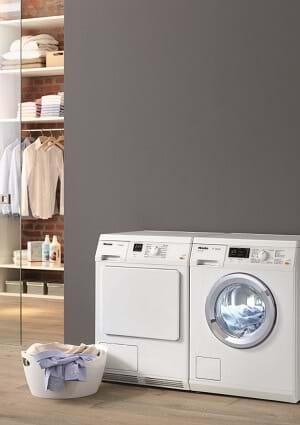 Miele washing machine and tumble dryer