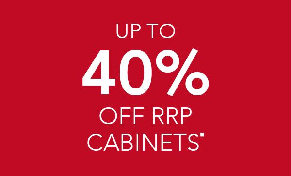 40% off RRP on Infinita kitchens
