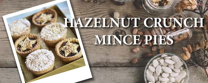 Hazelnut Crunch Mince Pies