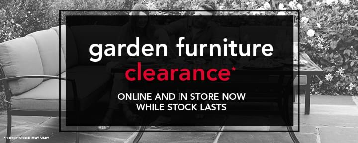 Garden Furniture Clearance Event