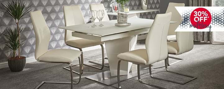 Multibuy 30% Off Selected Dining & Cabinet Furniture