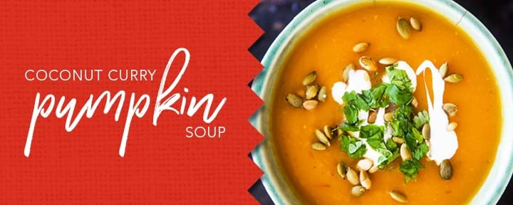 Coconut Curry & Pumpkin Soup