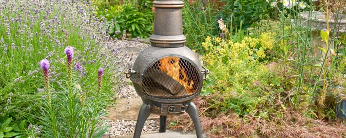 Chimeneas, Firepits & Accessories