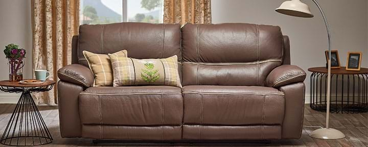 buy leather sofa leather sofas buy or click and collect leekes 11878 | piper cat