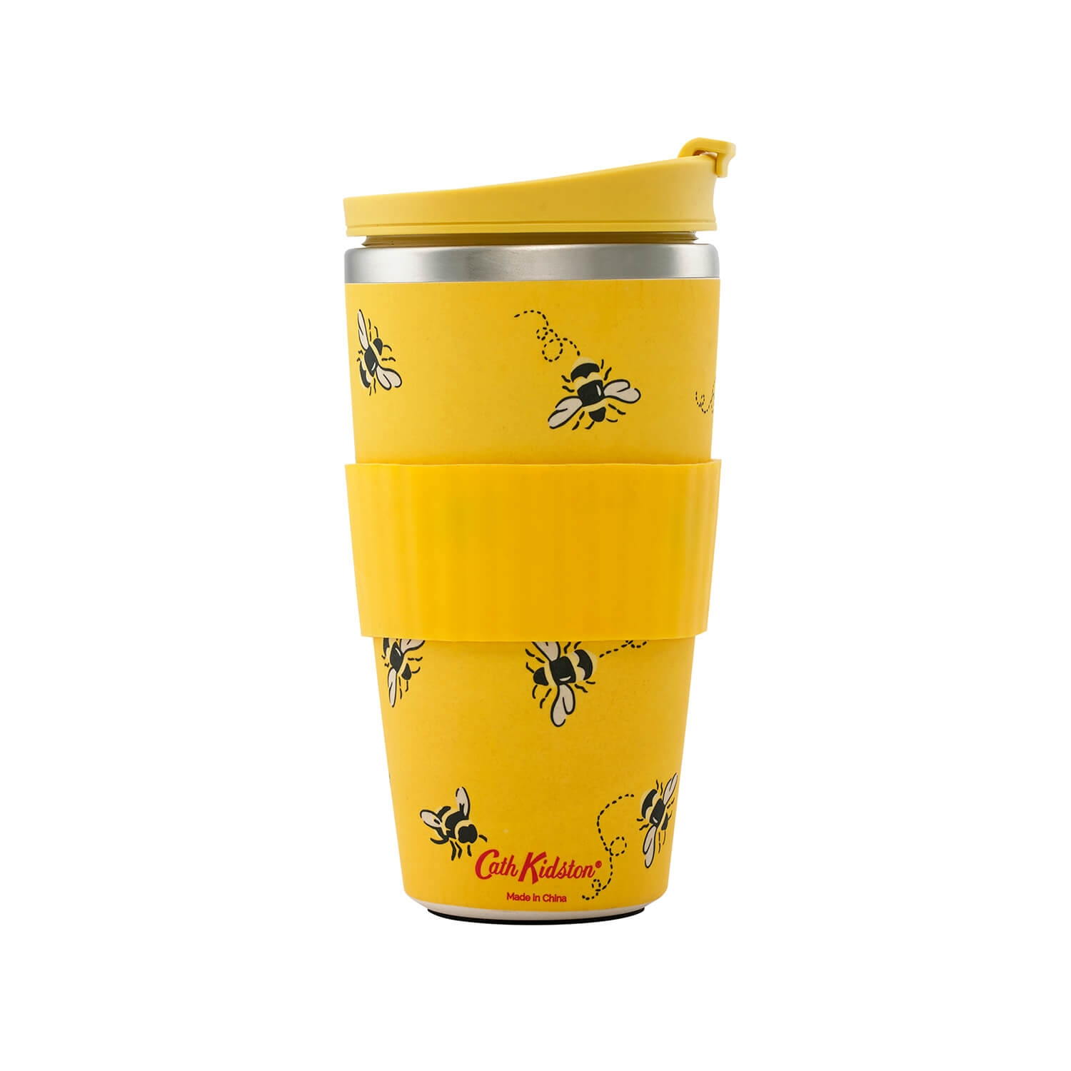 Image of Cath Kidston, Bee, Travel Cup, Cream