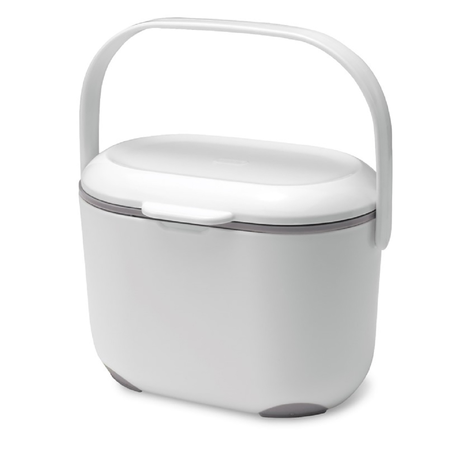 Image of Addis, Compost Caddy, White, 2.5 litre