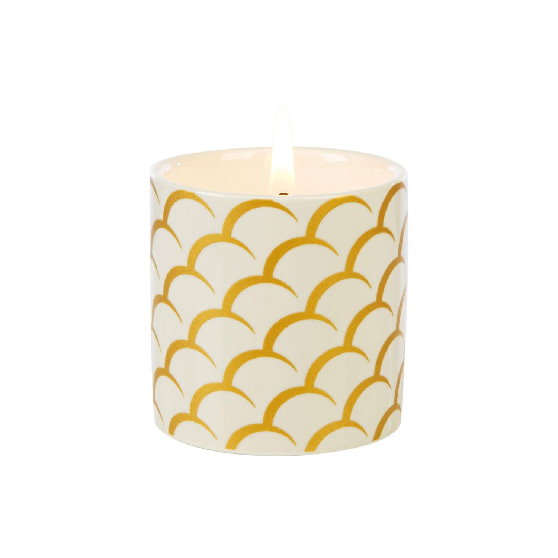 Image of Wax Lyrical Colony Small Ceramic Candle, White Tea & Pomegranate