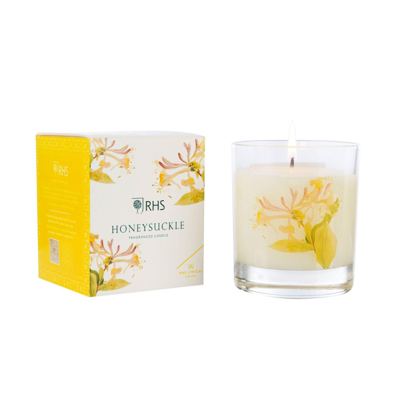 Image of Wax Lyrical Colony Medium Jar Candle, Honeysuckle