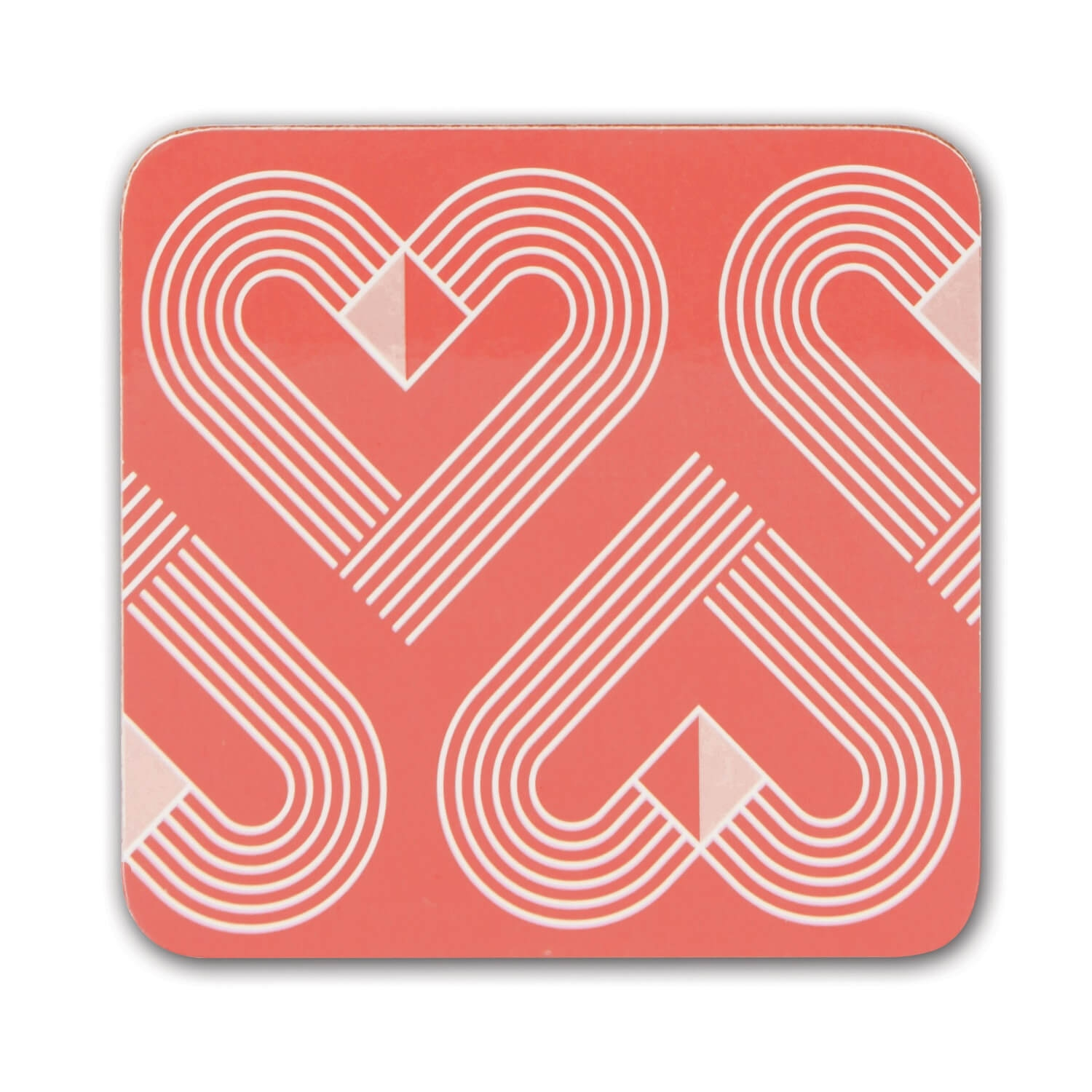 Image of Vibe Coasters, Coral