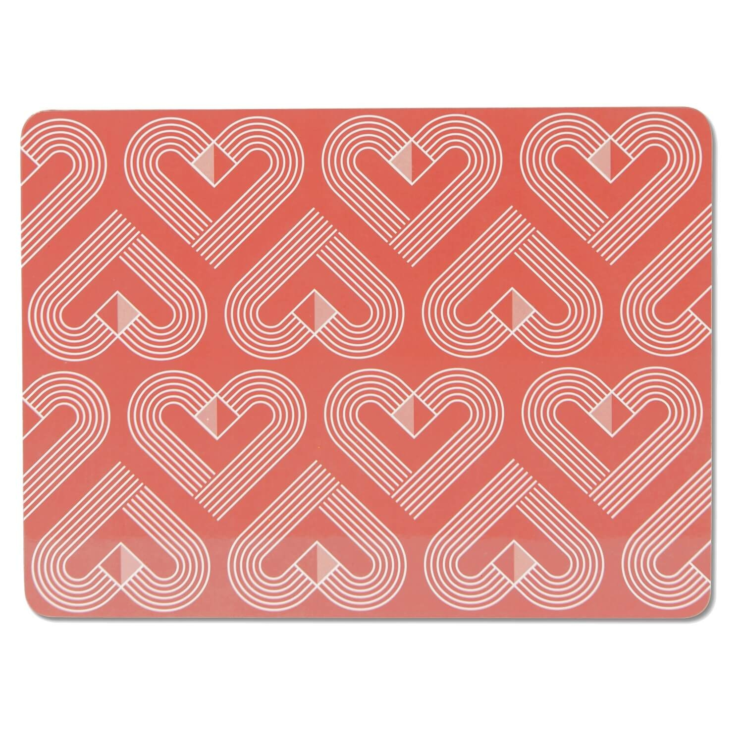 Image of Vibe Placemats, Coral