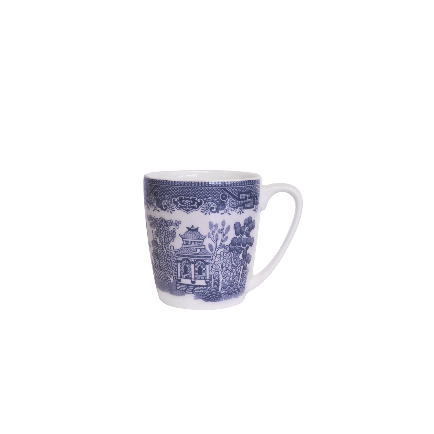 Image of Churchill China, Blue Willow Mug, 220ml
