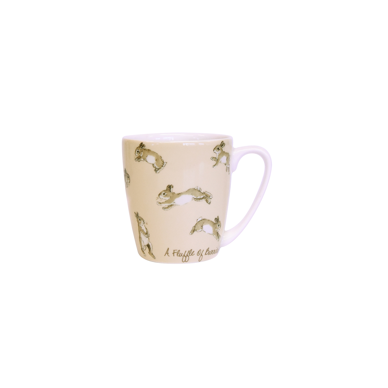 Image of Churchill China Fluffle Of Bunnies Mug, Fawn