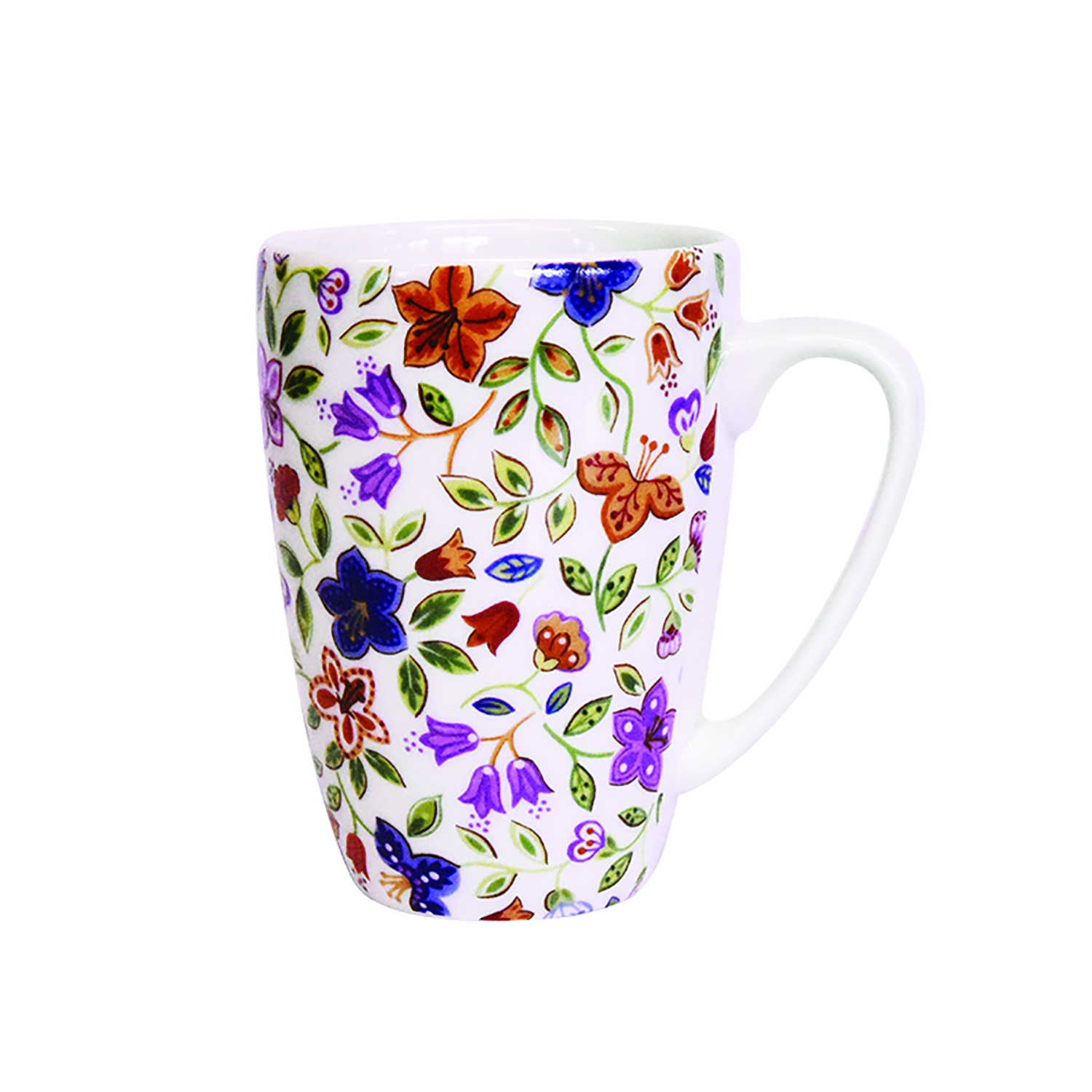 Image of Churchill China, Indigo Fields Mug, 275ml, Asstd