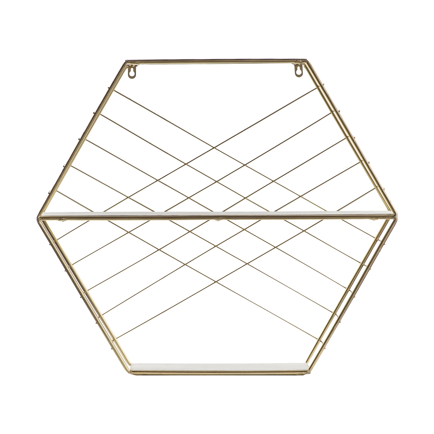 Image of Gallery Alton Shelving Unit, Gold