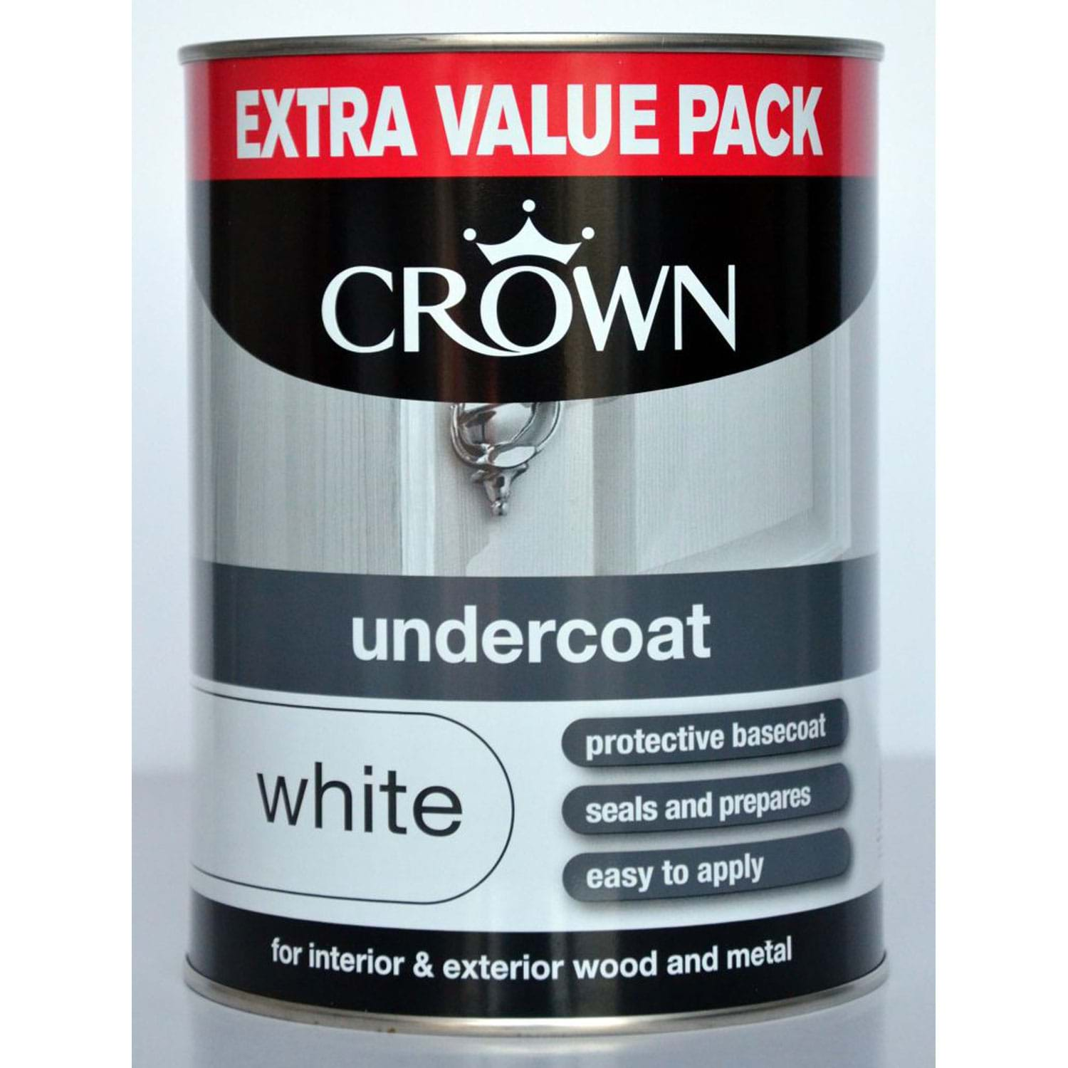 Image of Crown 1.25L Undercoat, White