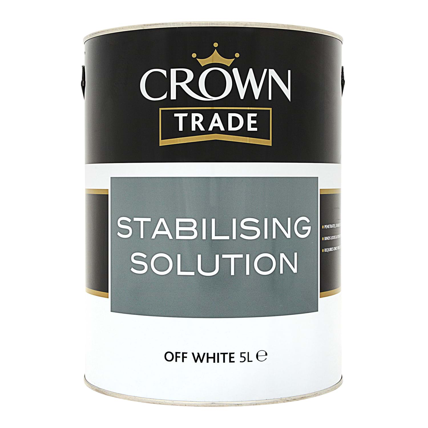Image of Crown 2.5L Stabilising Solution Primer, Off White