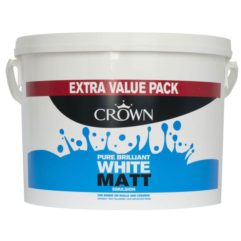 Image of Crown 6l Matt Pure Brilliant White