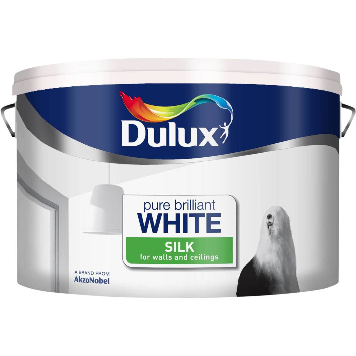 Dulux 10l Silk Pure Brilliant White