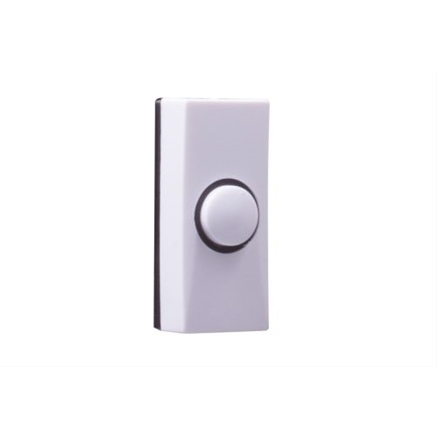 Image of Byron Wired Plastic Bell Push White