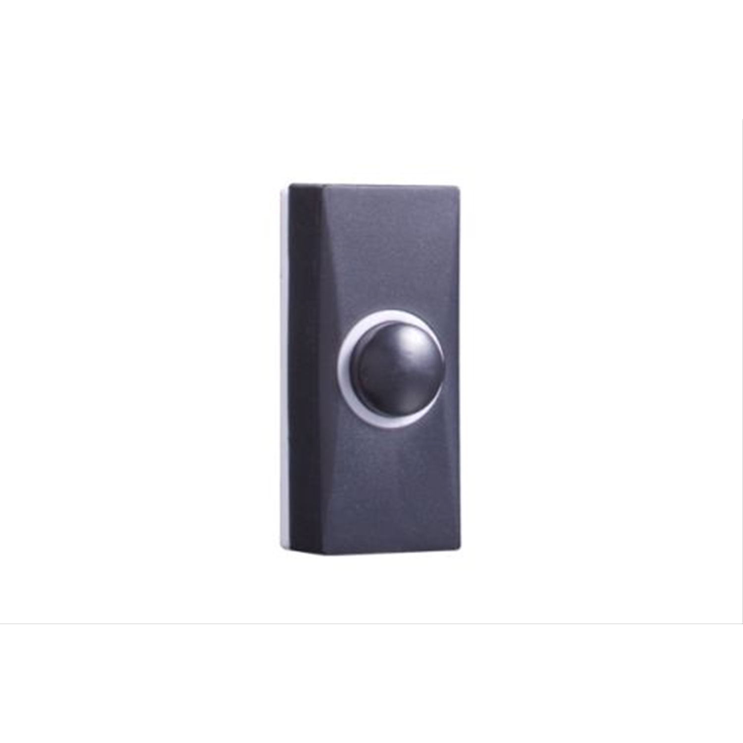 Image of Byron Wired Plastic Bell Push Black