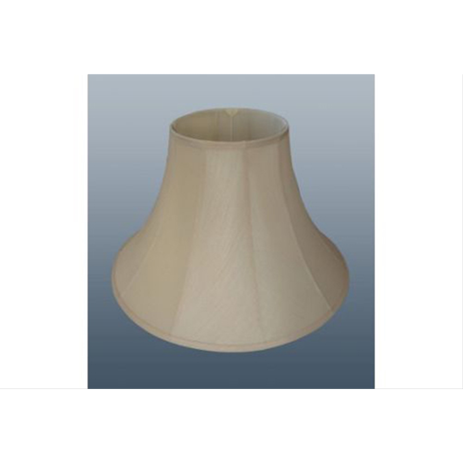 "12"" Cotton Bell Shade, Cream"