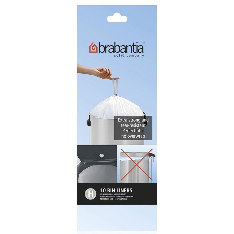 Image of Brabantia 50L Bin Liners (Pack of 10)