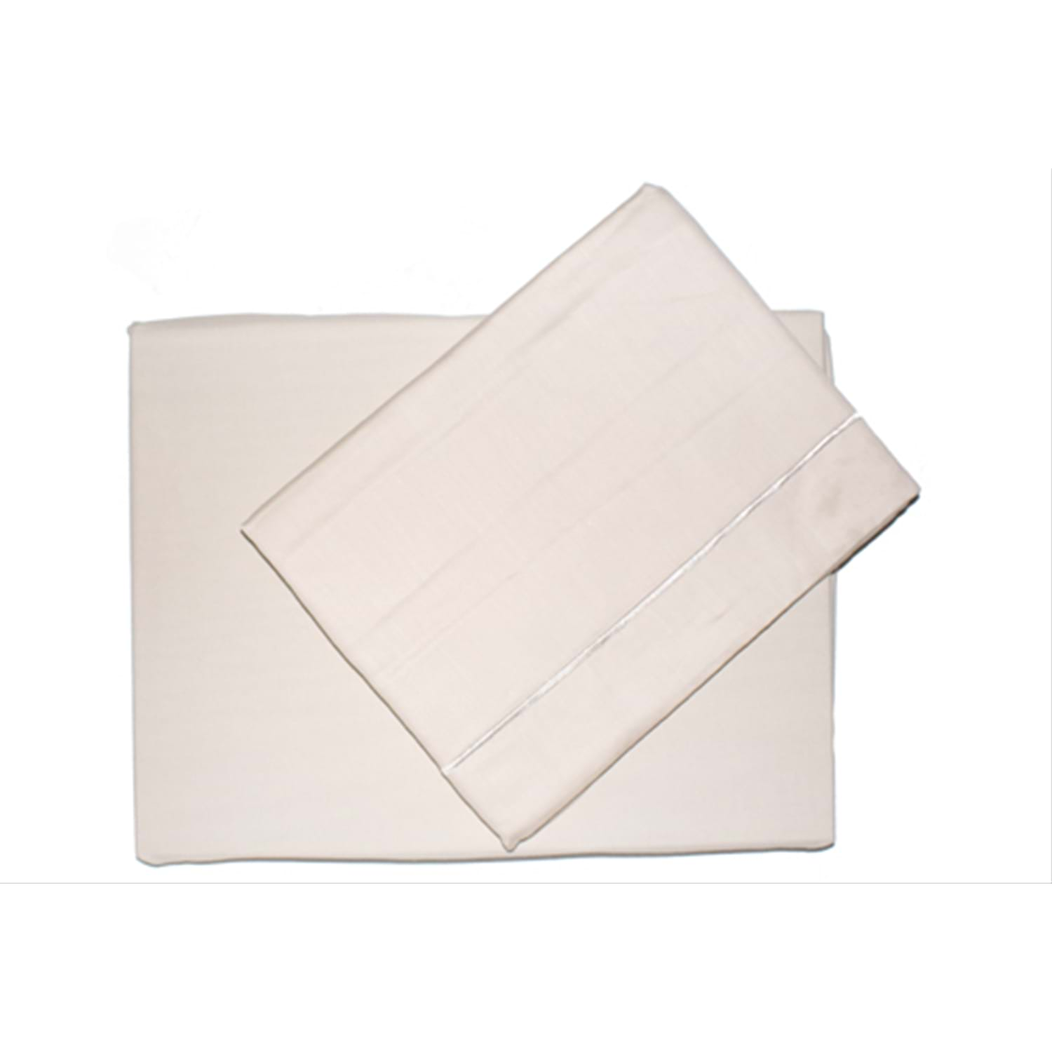 Image of Belledorm 200 Thread Count Extra Deep Fitted Sheet, Super King, Cream