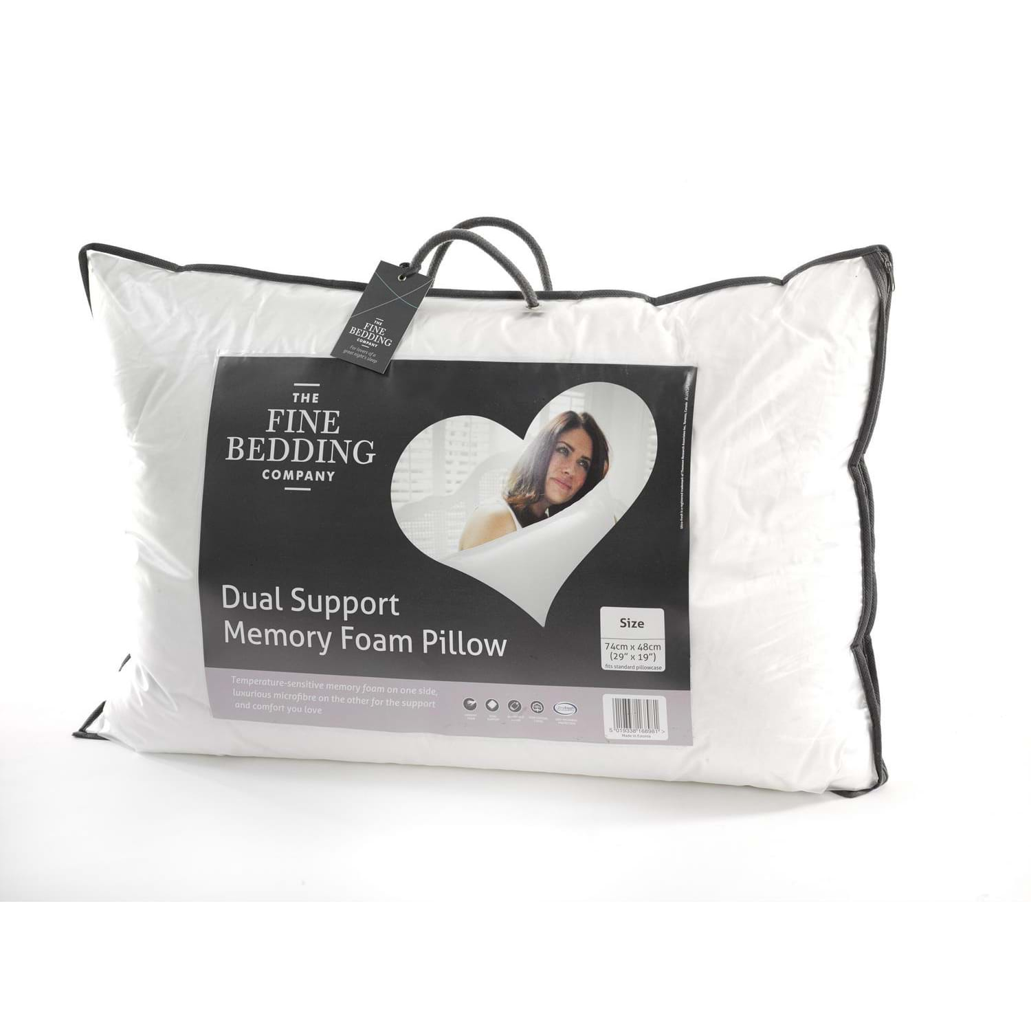 Image of Fine Bedding Company Dual Support Pillow