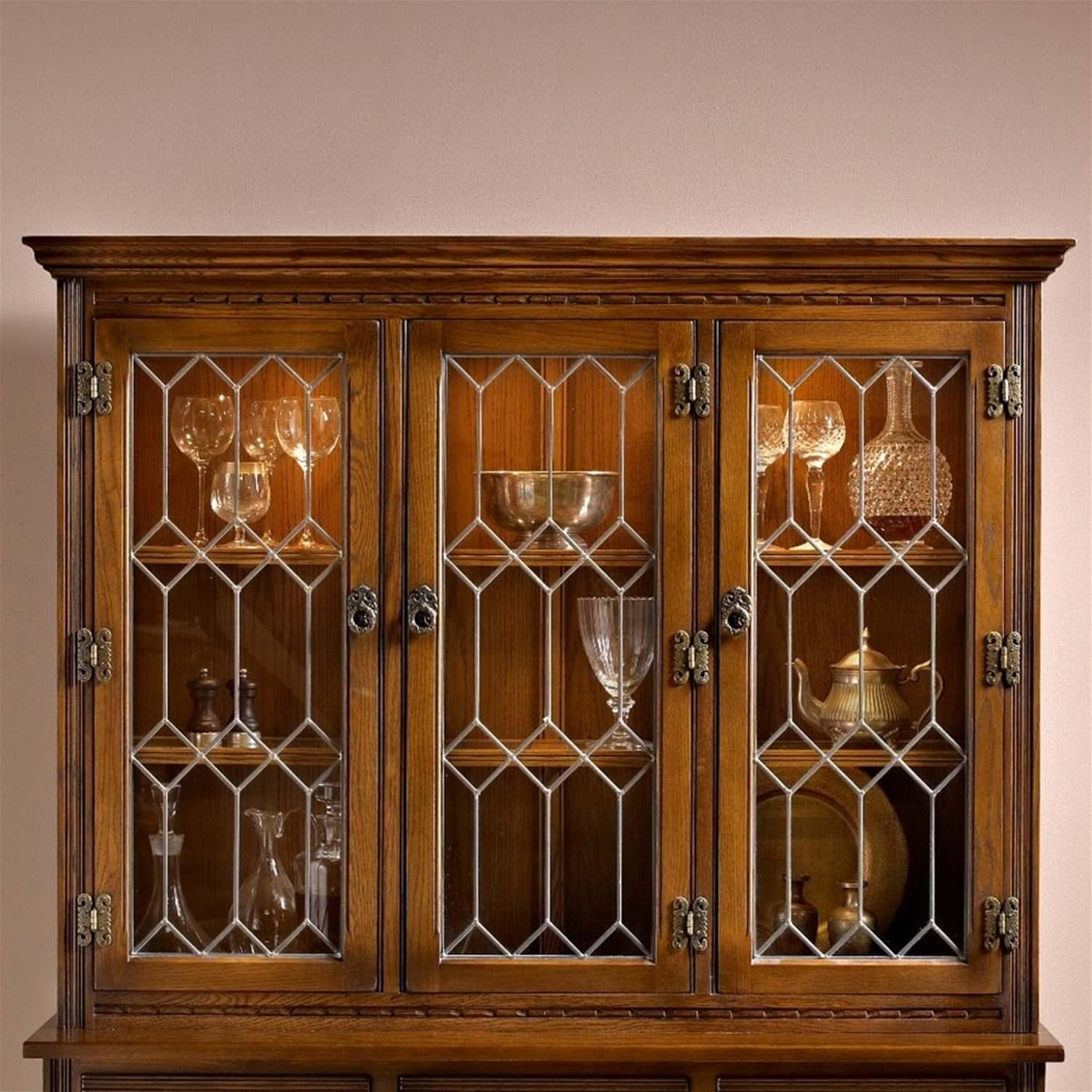 Image of Old Charm Lancaster Display Cabinet Top