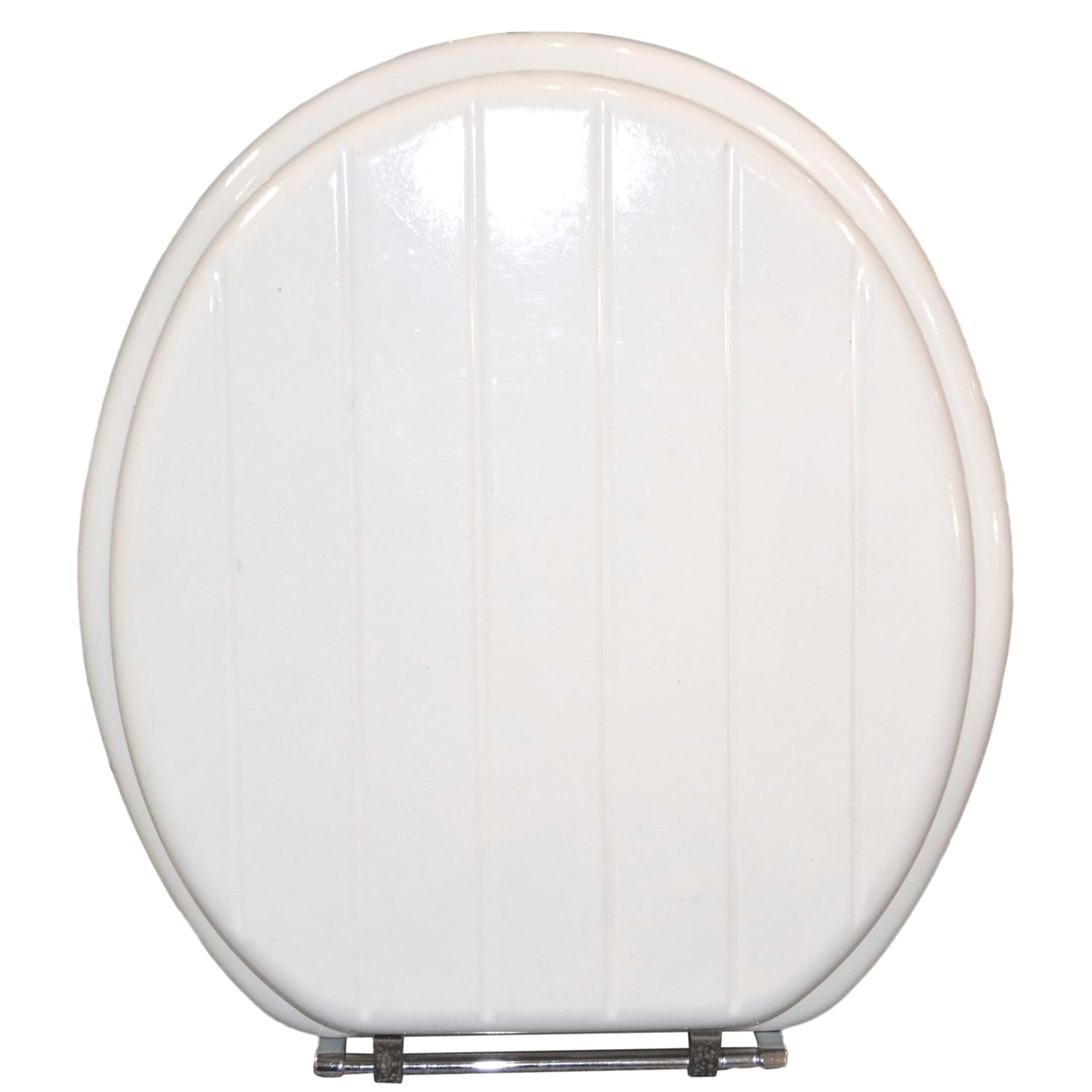 Image of Casa Slatted Toilet Seat, White
