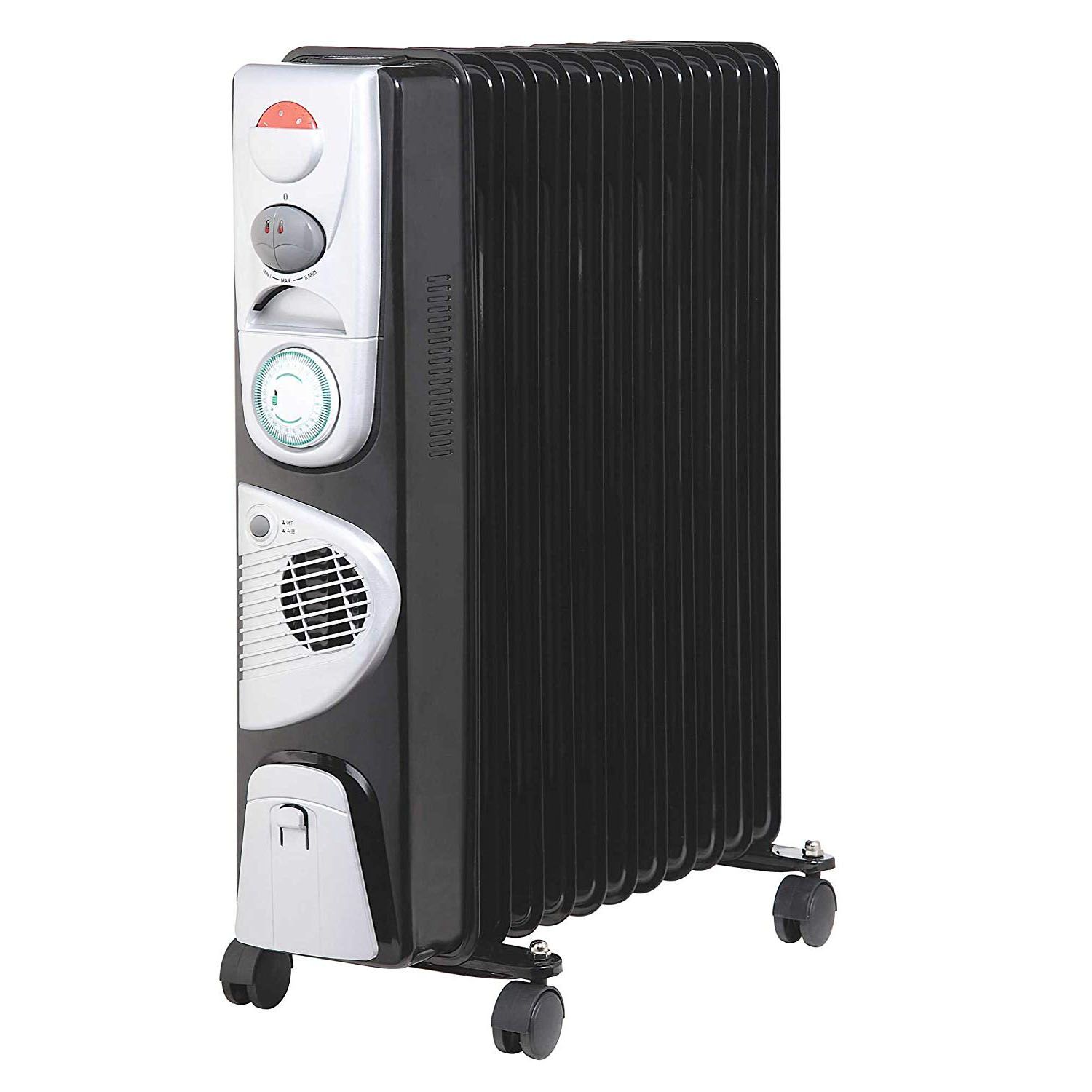 Kingavon 2.5kw 11 Fin Slimline Oil Filled Radiator
