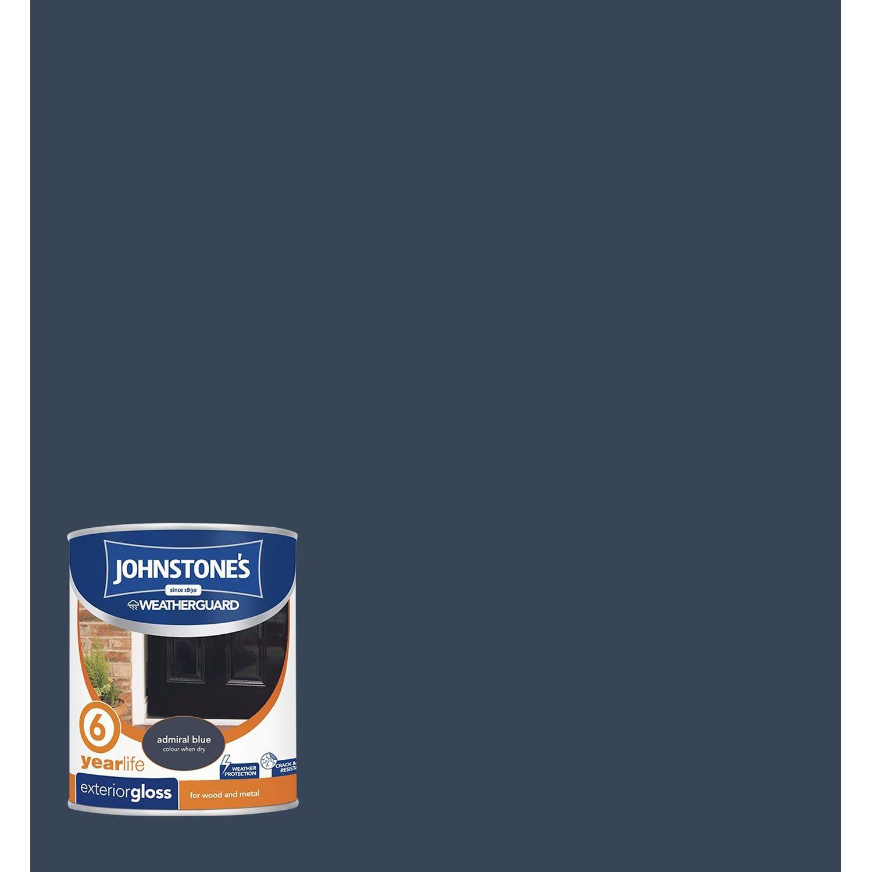 Wilko Exterior Gloss Paint Cambridge Blue 750ml
