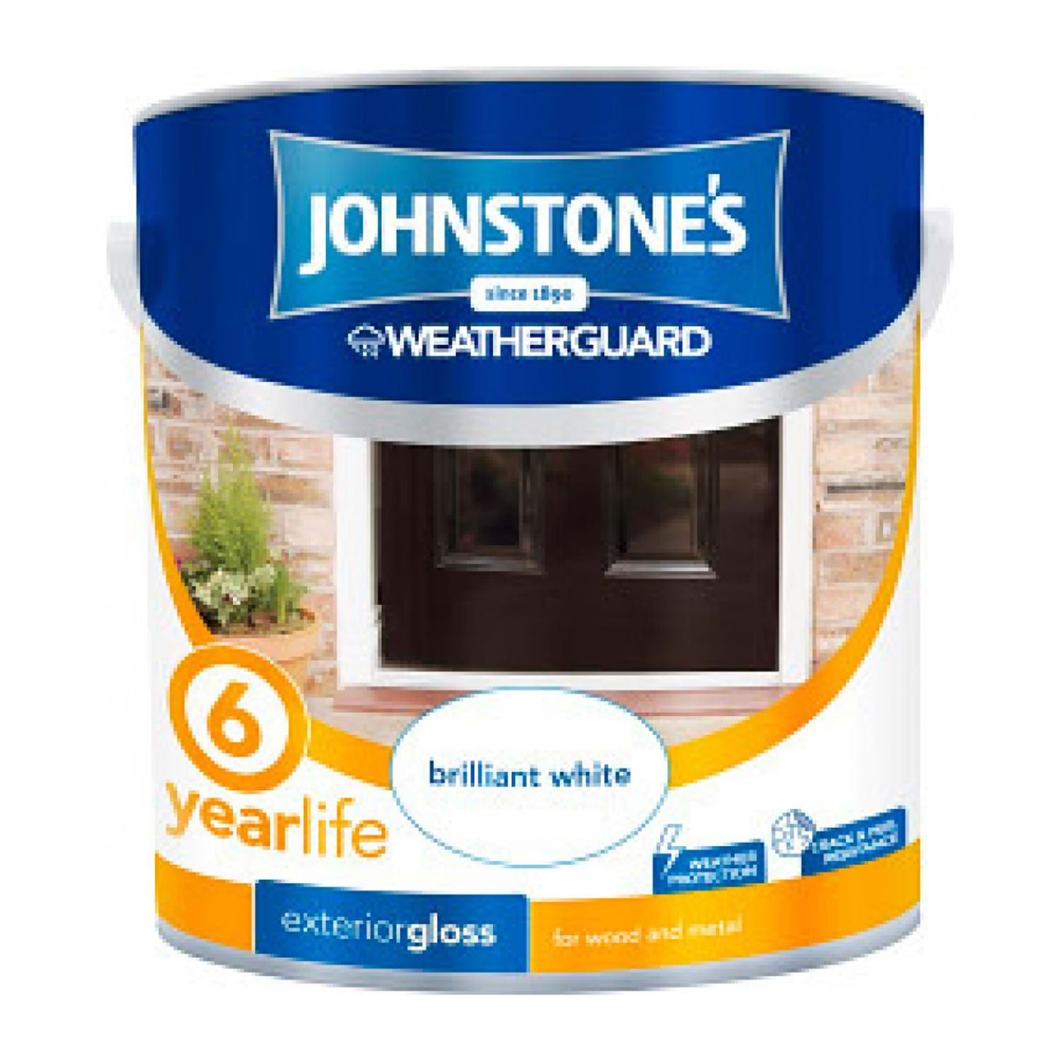 Ronseal Exterior Pure Brilliant White Gloss Paint 750ml