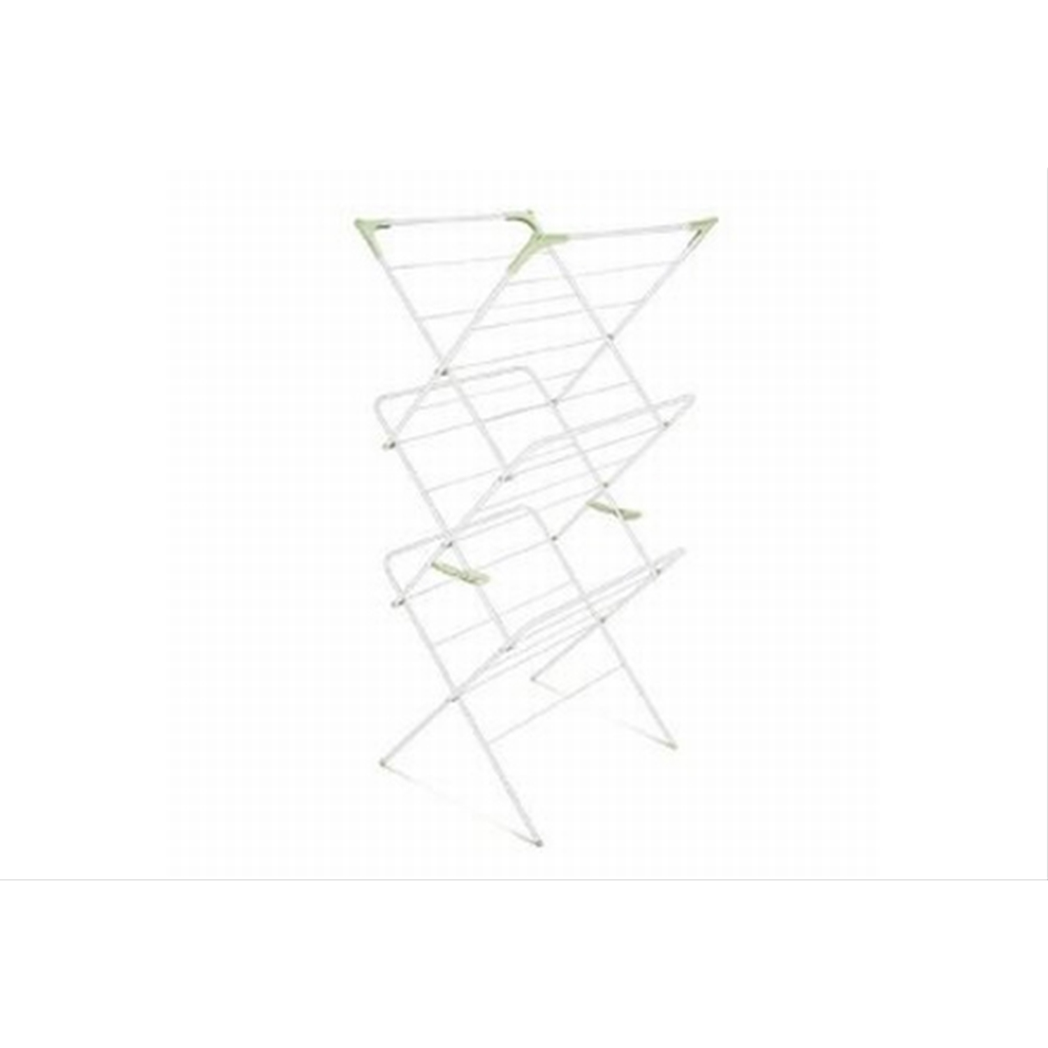 Image of Addis 3 Tier Airer White / Green