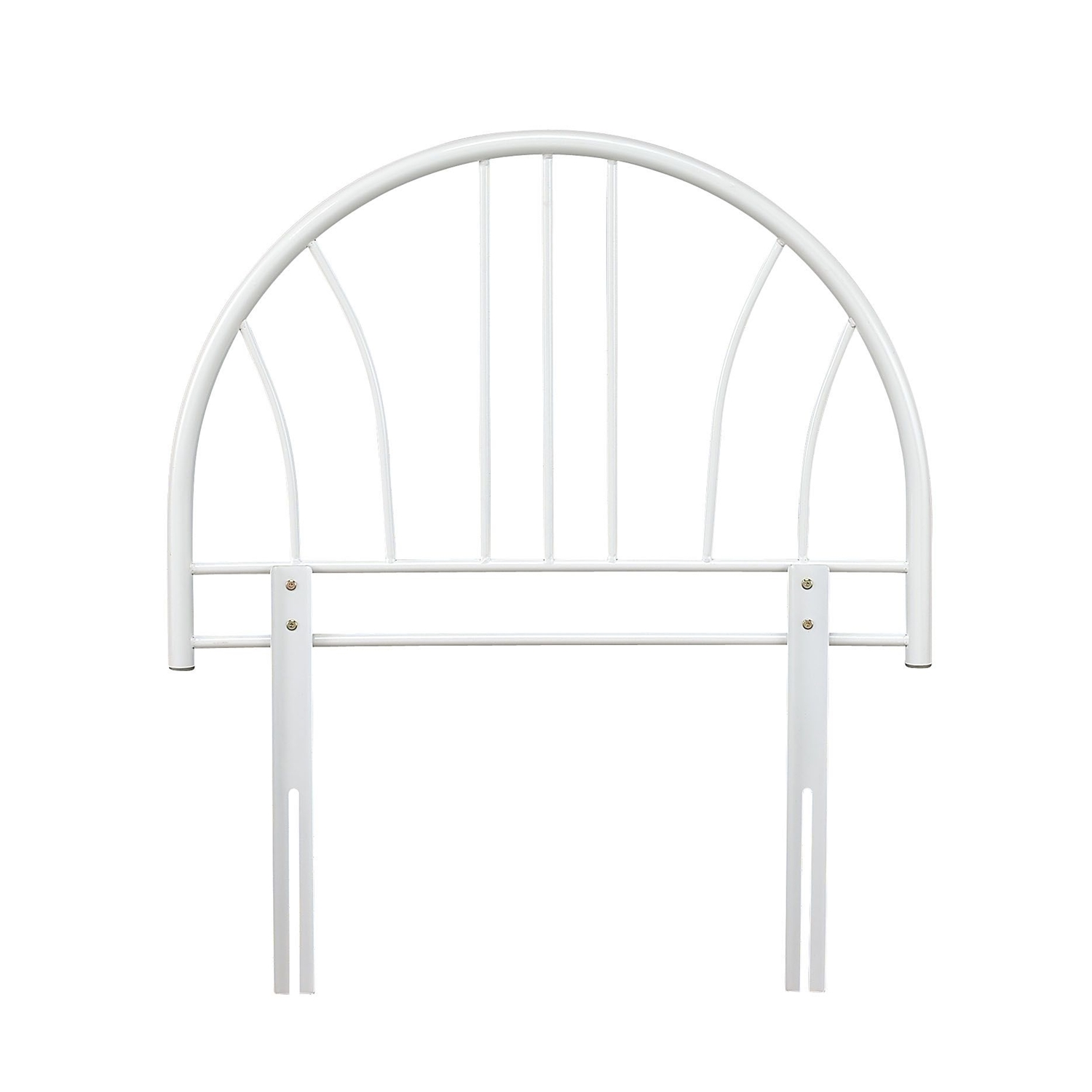 Image of Casa Annabelle Headboard, Single, White
