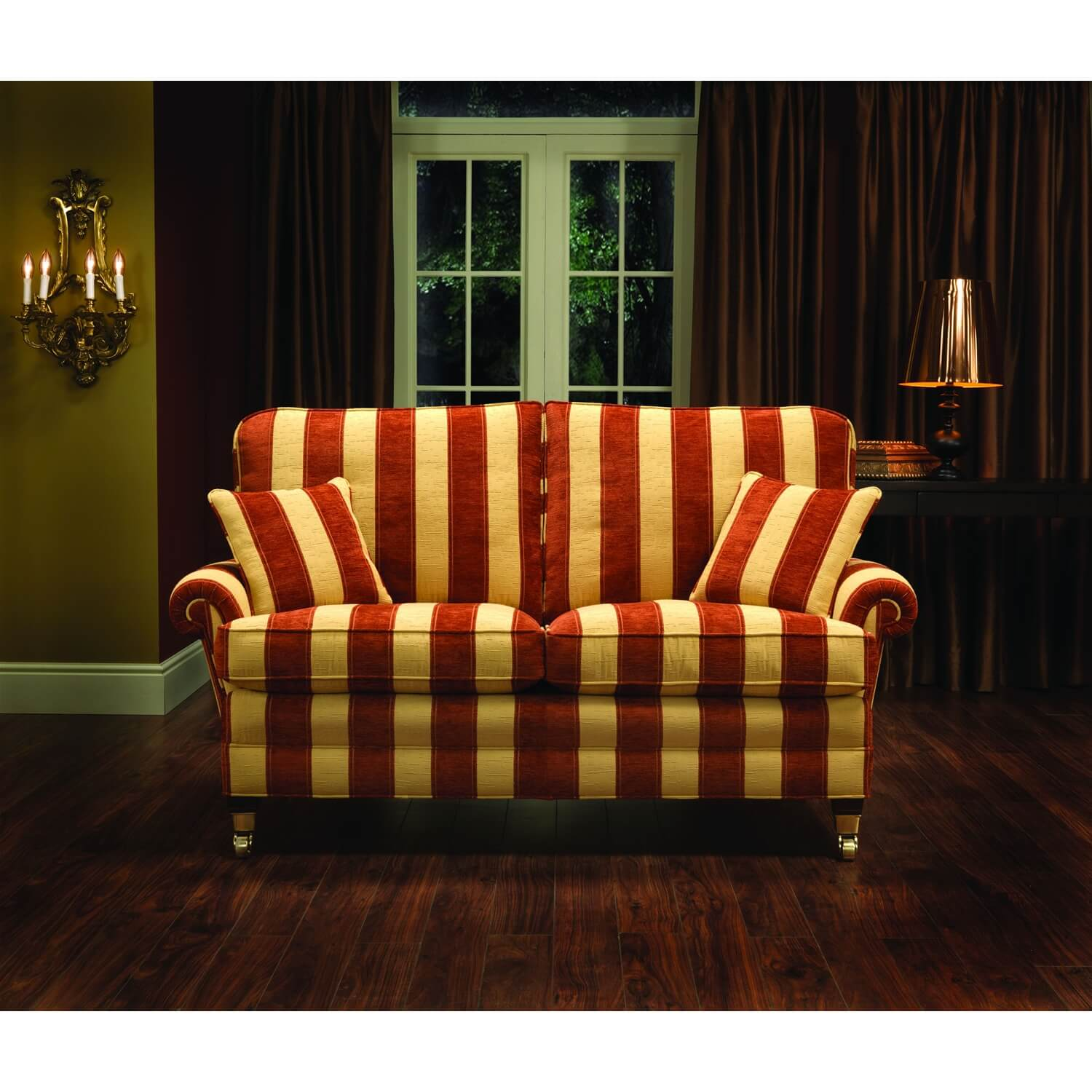 Image of Bridgecraft Lincoln 2 Seater Fabric Sofa
