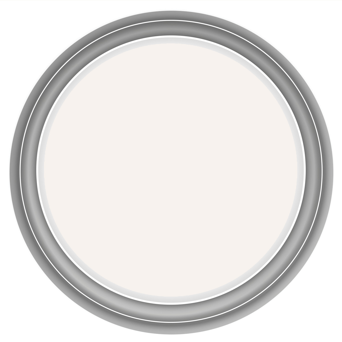 Image of Crown 2.5L Kitchen & Bathroom Mid Sheen Emulsion Paint, Milk White
